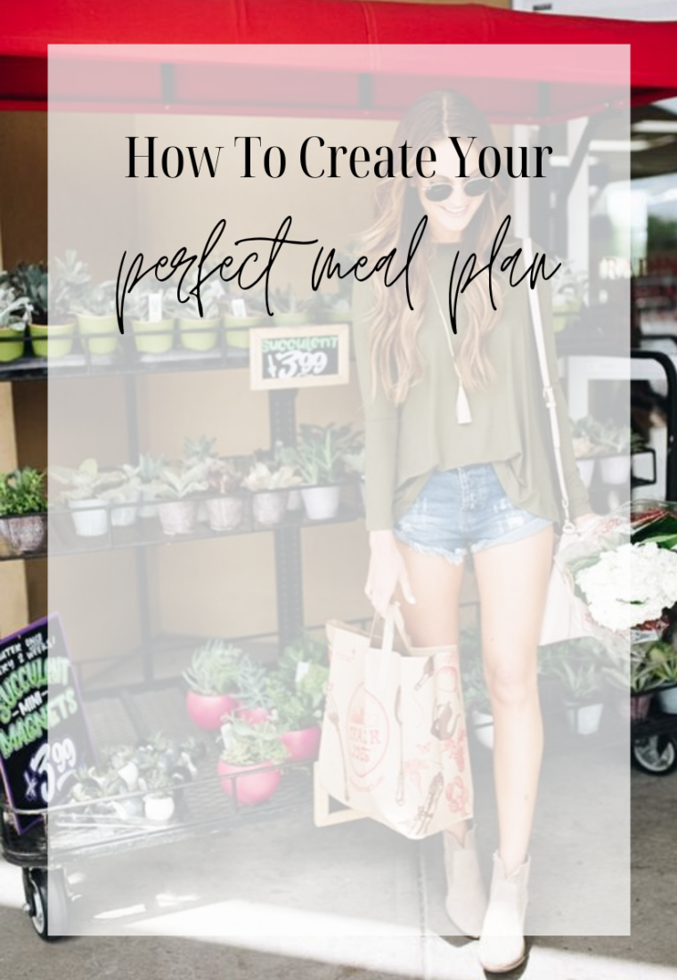 How To Create the Perfect Meal Plan