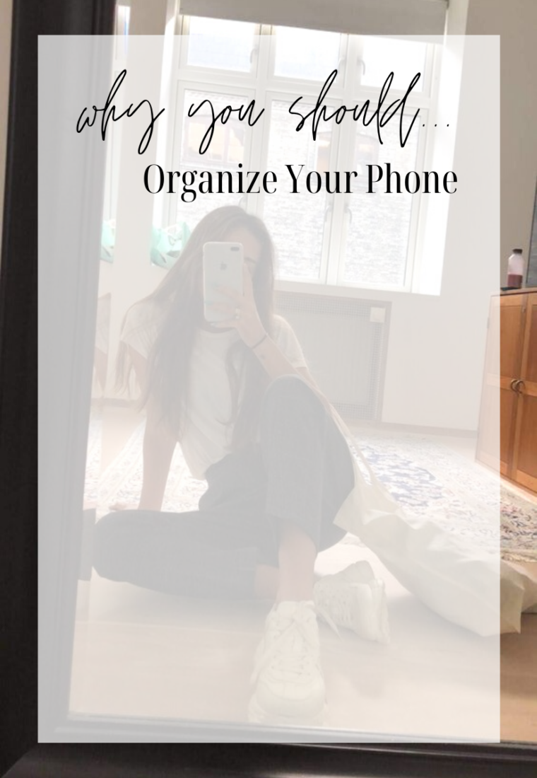 Why You Should Organize Your Phone
