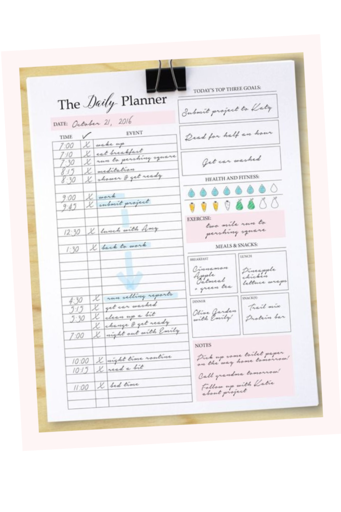 why you should have a planner